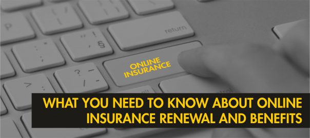Online insurance renewal